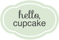 Hello Cupcake Logo