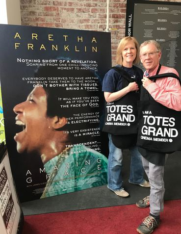 Kathy and Michael totes grand tote bag