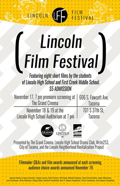 Lincoln Film Fest poster